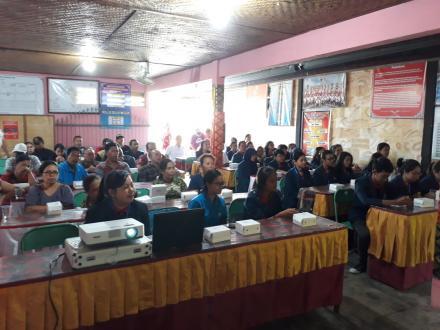 Sosialisasi Program dan Perkenalan Mahasiswa KKN Universitas Udayana Tahun 2018.