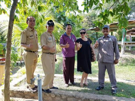 Kunjungan Kadis Pariwisata Buleleng Untuk Pengenalan Desa Menyali Sebagai Objek Wisata Di Buleleng