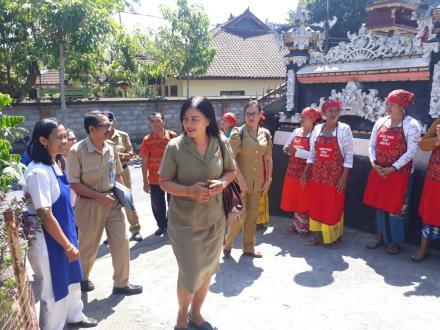 Evaluasi Kelompok Toga oleh Dinas Kesehatan Provinsi Bali