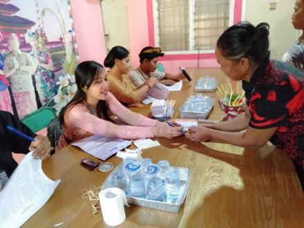 Sosialisasi Dan Penyaluran BPNT Oleh Dinas Sosial Kabupaten Buleleng