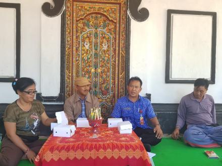 Pertemuan Dan Pembinaan Kegiatan Kebun Bibit Desa