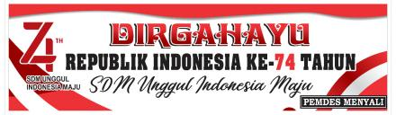 DIRGAHAYU REPUBLIK INDOENSIA KE 74