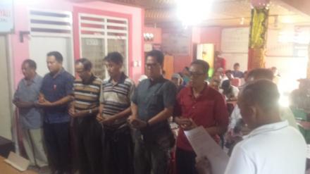 Pelantikan KPPS Pilkel Menyali