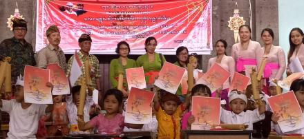 Keseruan Kegiatan Bulan Bahasa Bali Di Desa Menyali