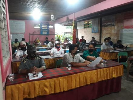 Sosialisasi Verivikasi Calon Penerima BLT Dana Desa