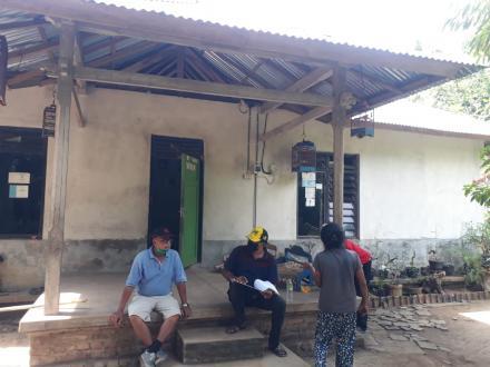 Satgas Lawan Covid 19 Melakukan Survey Lapangan Calon Penerima BLT Dana Desa