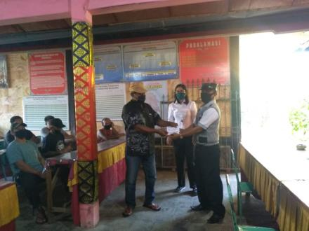 Penyaluran Bantuan Langsung Tunai Dana Desa Tahap III Berlangsung Tertib