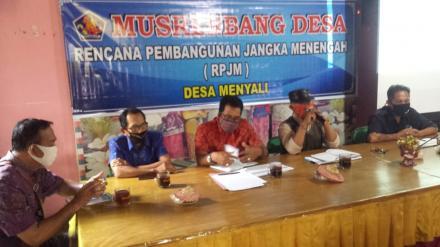 Penyusunan Rencana Pembangunan Desa melalui Musyawarah Perencanaan Pembangunan Desa