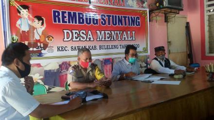 Rembug Stunting Desa Menyali Tahun 2020