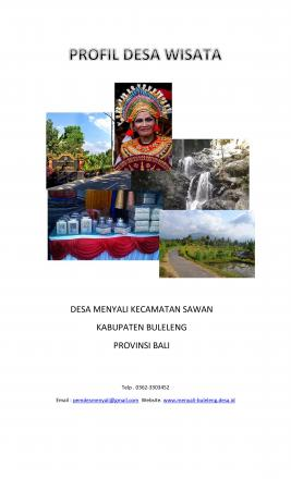 Profil Desa Wisata Desa Menyali