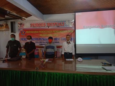 Musrenbangdes Dalam Rangka Penyusunan RKP Desa Tahun 2022