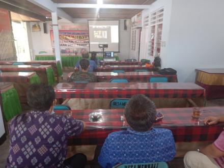 Kegiatan Live Zoom Meeting Dalam Rangka Perencanaan Pelaksanaan Program Desa Kerthi Bali Sejahtera
